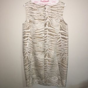 Beige/cream Lafayette 148 dress